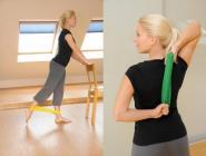 SISSEL® Exercise Loop, 5 x 33 cm, 2er Set (1 x gelb-leicht, 1 x grün-stark)