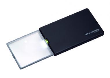 LED-Scheckkartenlupe easyPocket schwarz