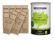 INSUMED Bestform Eiweißdrink Vegan Paket, 1x Dose Vegan á 400 g und 10 Riegel Vegan