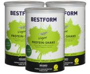 INSUMED Bestform Eiweißdrink Vegan: 3 Dosen á 400g
