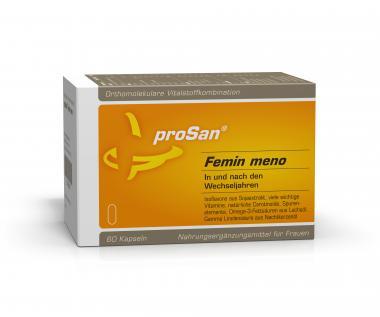 proSan Femin-meno Kapseln, 60 Stück Monatspackung