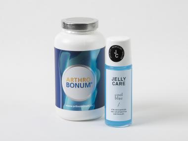 Arthrobonum Kapseln 240 Stück inkl. Jelly Care cool blue, 75ml