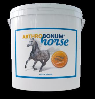 Arthrobonum Horse (dopingfrei) Gelenkpräparat Pulver, Aroma Apfel 2,4 kg