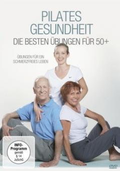 """Pilates DVD """"Pilates Gesundheit - Die besten Übungen für 50+"""""""
