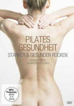 """Pilates DVD """"Pilates Gesundheit - Starker und gesunder Rücken"""""""