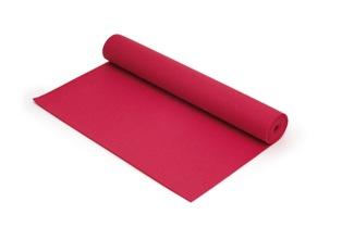 SISSEL® Yoga Matte ca. 180 x 60 x 0,4 cm, fuchsia