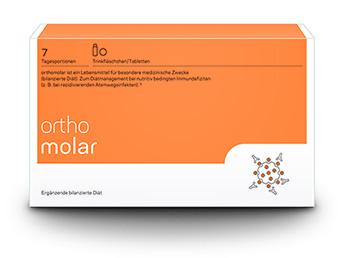 Orthomolar Trinkfläschchen/Tablette, 7 Tagesportionen