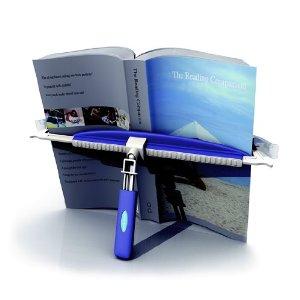Buch- & Dokumentenhalter, inkl. Standfuß und Monitorhalterung