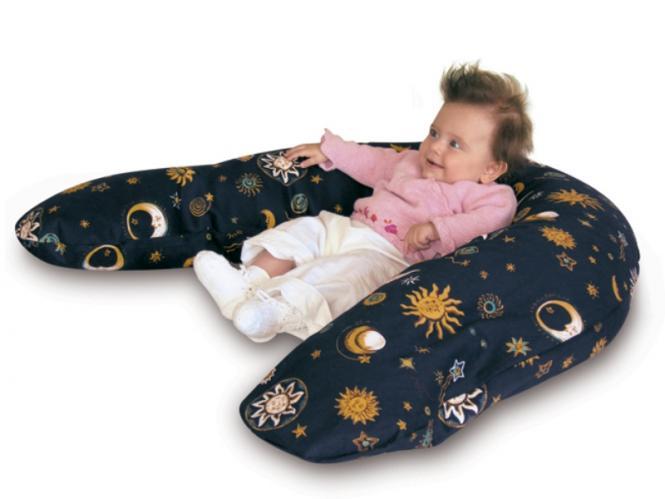 SISSEL® Comfort Lagerungs- und Stillkissen mit Dinkelspreufüllung, ohne Bezug