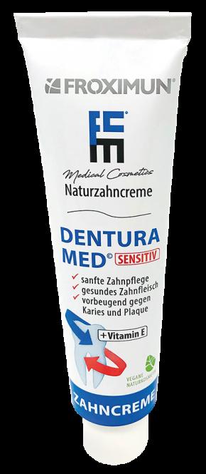 Dentura Med Sensitiv Naturzahncreme 75 ml
