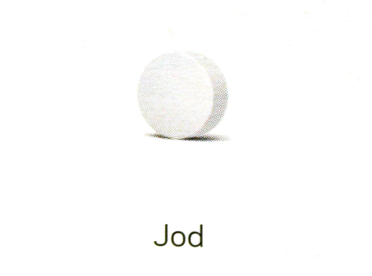 Jod-Tablette