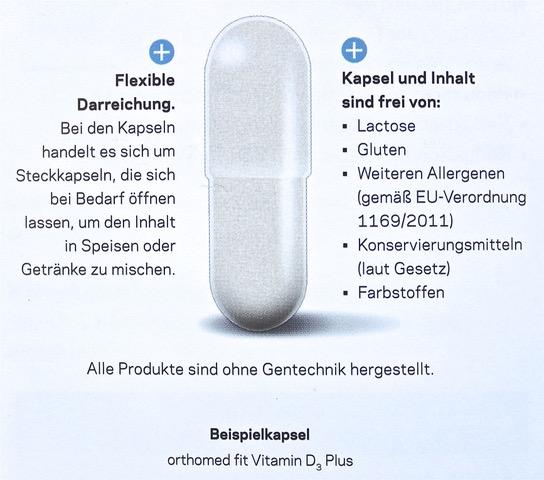 Kapsel Vitamin D3