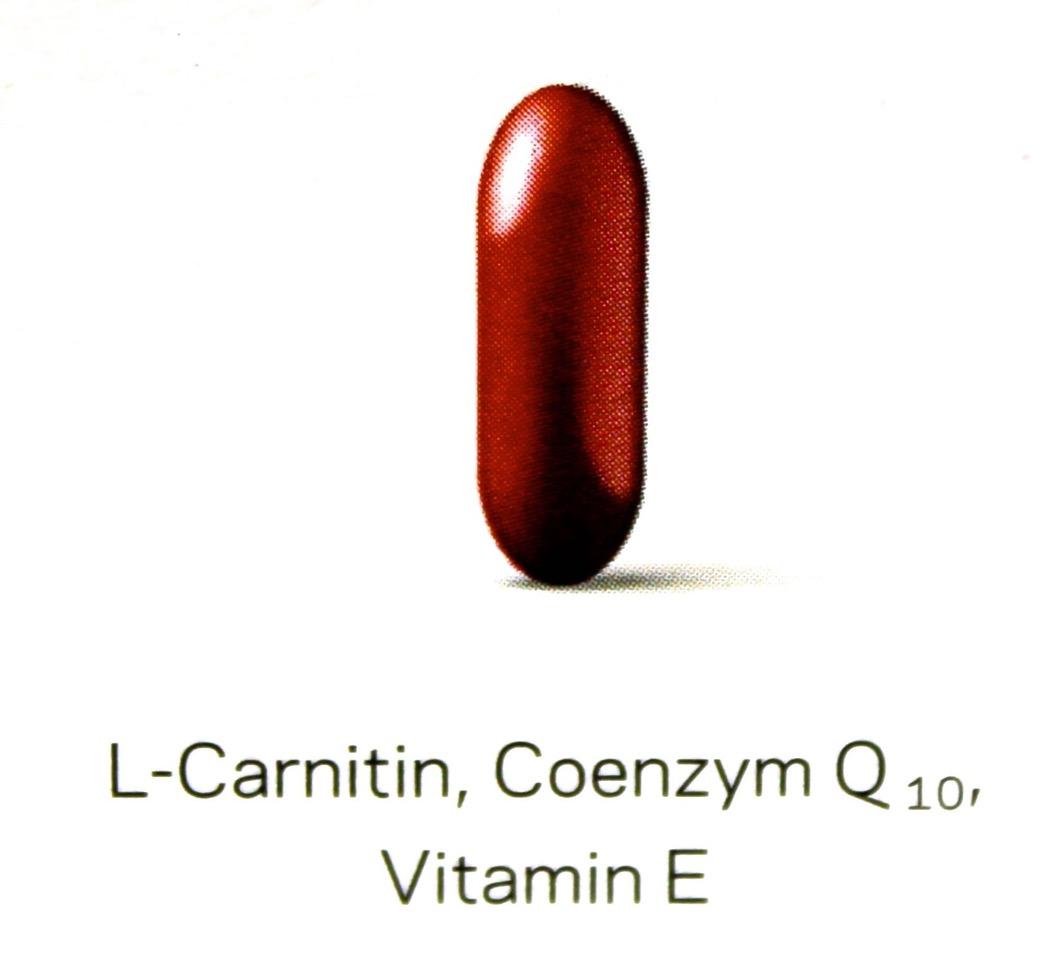l_Carnitin,Coenzym Q10, Vitamin E