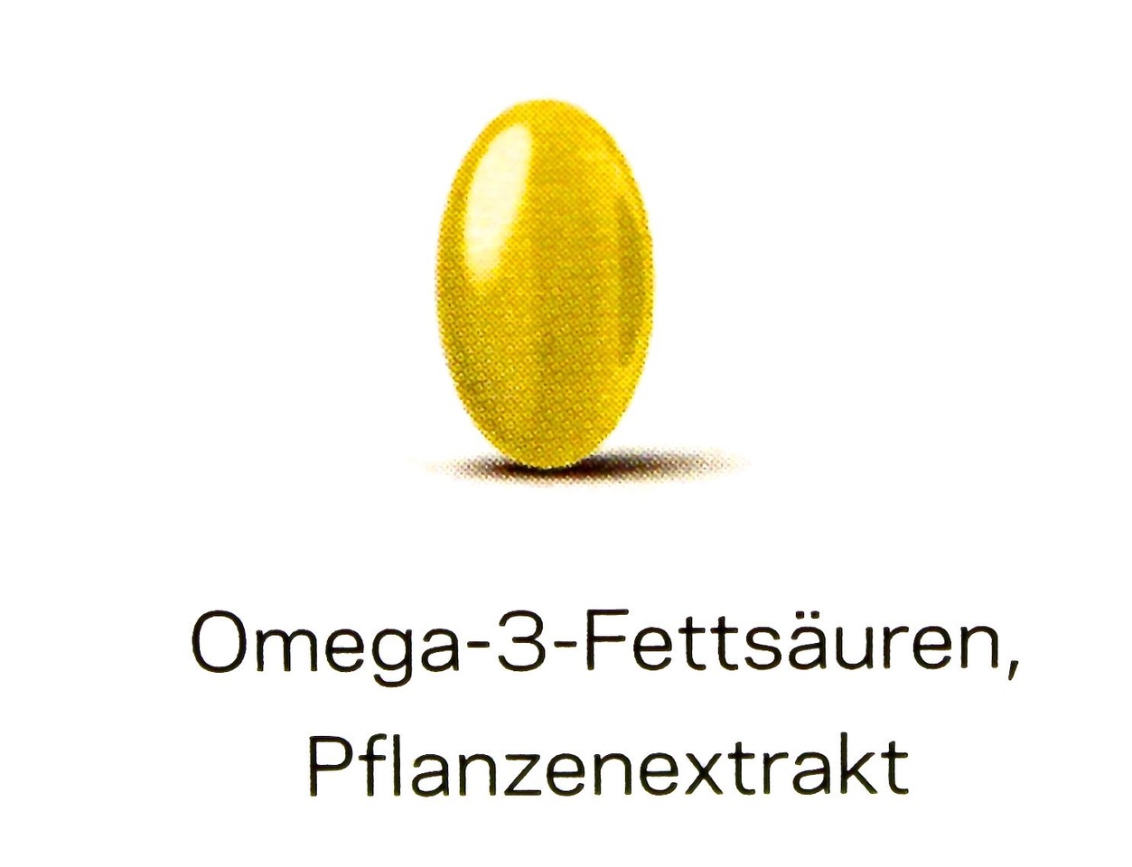 Omega-3- Fettsäure, Pflanzenextrakt