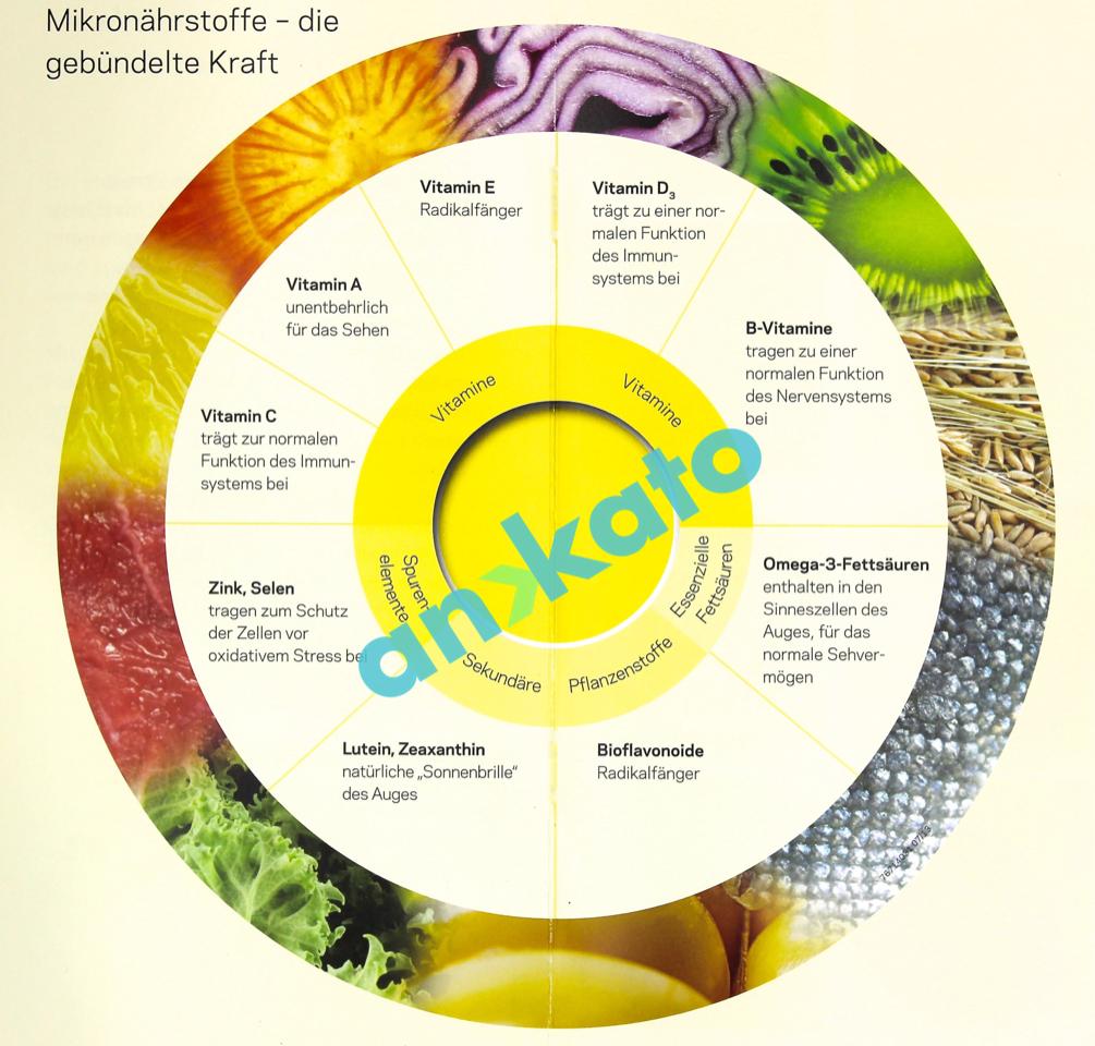 Mikronährstoffe - die gebündelte Kraft